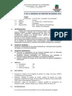 Plan de Brigada de Gestion de Riesgo 2015