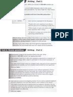 c1 Writing Test Parts 1 & 2