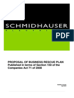 Business Rescue Plan