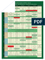Cronograma Seminario 2018 El Libro de Mormón
