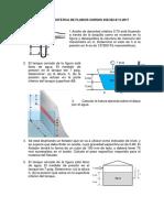 Guía Ejercicios Estática de Fluidos