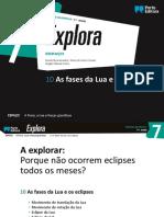 Fases Da Lua e Eclipses