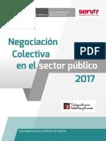 Negociación Colectiva en el Sector Publico 2017
