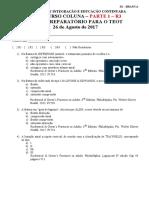 Prova Coluna 2017 Parte 1 R3 Sbot RJ