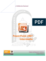 Manual de Power Point 2007 Intermedio
