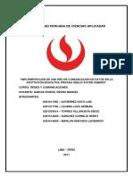 Implementación de Red de Telecomunicaciones