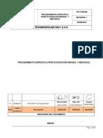 Pr-tcm-040 Procedimiento Especifico Para Excavación Manual y Mecánica