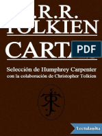 Cartas - J R R Tolkien