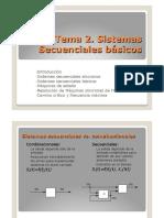 Tema 2. Sistemas Secuenciales