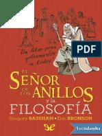 El Senor de los Anillos y la filosofia - AA VV.pdf