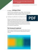 Design Thinking at Cisco – Jason Cyr – Medium