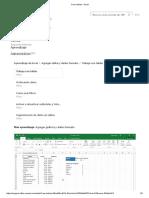 Crear Tablas - Microsoft Excel