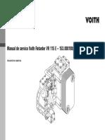Voith VR115E Español