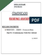 Aviso Convocatoria 3 - Coactivo