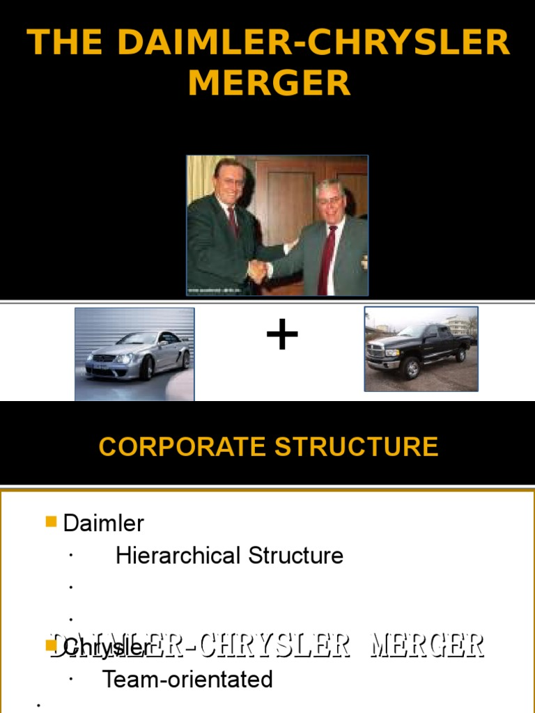the leadership processes of daimler chrysler Daimlerchrysler is a global leader in the luxury automobiles industry with   daimlerchrysler needed to merge processes and disparate it systems into a  single.