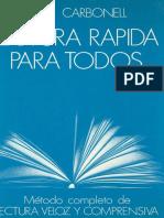 Lectura R_C3_A1pida Para Todos - R. G. Carbonell