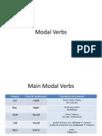 Modal Verbs (S)
