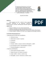Plano de Curso - Engenharia Civil