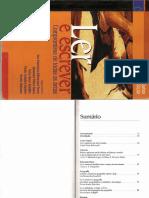 Apresentação Livro Ler e Escrever compromisso em todas as áreas