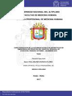 CARACTERIZACION DE LA AUTOMEDICACION CON ANTIBIOTICOS EN EMERGENCIA DE PEDIATRIA DEL HOSPITAL REGIONAL DE AYACUCHO