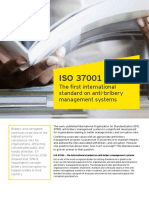 ISO 37001 International Standard on Anti-Brivery Managment Systems Brochure