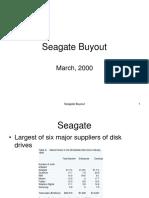 Seagate LBO analysis