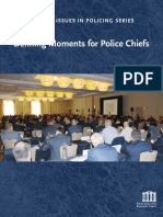 Defining Moments for Police Chiefs Report
