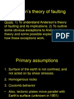Lecture 13 Anderson's Theory of Faulting