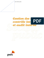 Pwc Secteur Public Gestion Risque