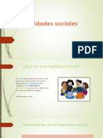 Diapositivas Habilidades Sociales