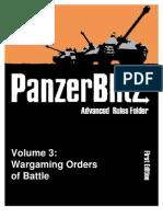 The Advanced Panzer Blitz to&e Book Version 3