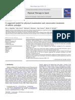 Un Modelo Sugerido Para El Examen Físico y El Tratamiento Conservador de La Pubalgia Atlética