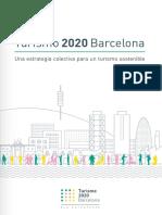 Turismo 2020 Barcelona