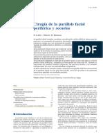 Cirugía de la parálisis facial periférica
