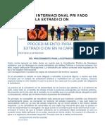 200673410 La Extradicion Nicaragua Procedimiento PDF