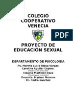 Proyecto Educación Sexual