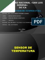 Sensor de Temperatura Ppt