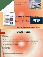 Atresia Esofagica 30 Nov 2017