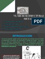 5. MICROESTRUCTURAS METAMÓRFICAS
