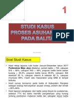Studi Kasus 1 Pemantauan Pertumbuhan Dan Status Gizi Balita