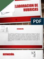 Elabortacion de Rubricas.pptx