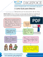 Versión Corta Guia Para Director- Primer Momento Reunión Padres de Familia -Enero Año 2018