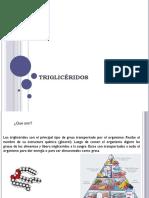 Charla Trigliceridos