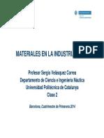 Materiales en la Industria Naval