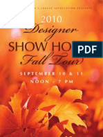 2010 UDLA SHOW HOUSE BOOKLET