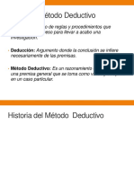 Método Deductivo