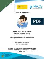 TERM of REFERENCE TOT Edukasi Hidrasi Di Lubuklinggau(1)