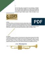 Instrumentos de Viento, De Cuerda y de Percusion