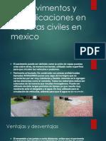 Los Pavimentos y Sus Aplicaciones en Las Obras