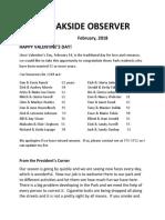 oakside observer february 2018